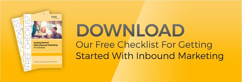 free checklist for getting started with inbound marketing for startups